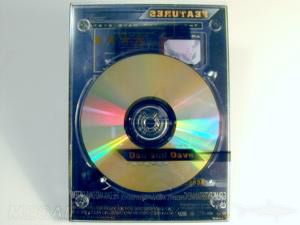 CDs in XRAY Cases - totally clear amaray cases with plastic silkscreened dvd wraps